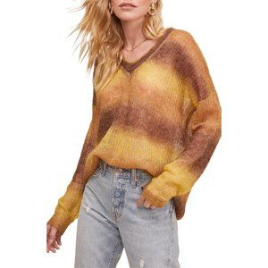 NWT Nordstrom ASTR Ombre Pullover Mohair Sweater